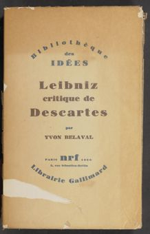 View bibliographic details for Leibniz critique de Descartes
