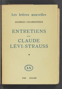 View bibliographic details for Entretiens avec Claude Lévi-Strauss