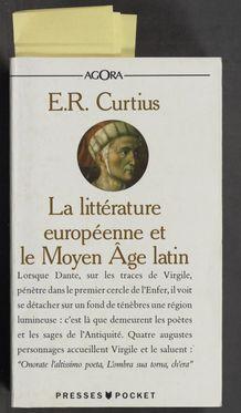 Cover of La littérature européenne et le Moyen Âge latin