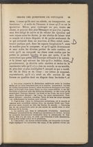 Detailed view of page from Discours de la méthode