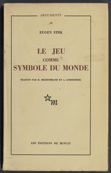 View bibliographic details for Le jeu comme symbole du monde