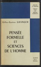 View bibliographic details for Pensée formelle et sciences de l'homme (detail of this page not available)