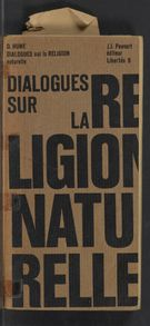 View bibliographic details for Dialogues sur la religion naturelle (detail of this page not available)