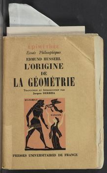Thumbnail view of L'origine de la géométrie