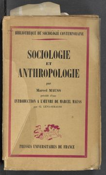 Thumbnail view of Sociologie et anthropologie