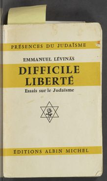 View bibliographic details for Difficile liberté