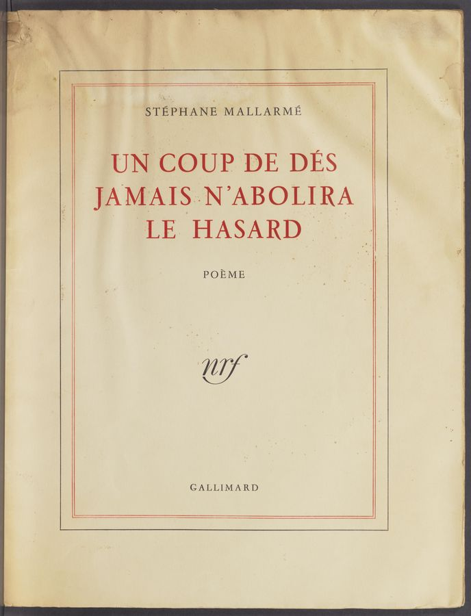 "Page text (OCR generated): { ,"" . GALLIMARD"