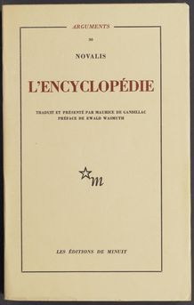 View bibliographic details for Encyclopédie