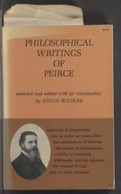 Detailed view of page from The Philosophical Writings of Peirce