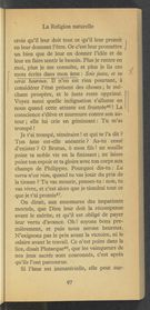 Detailed view of page from Profession de foi du vicaire Savoyard