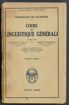 View bibliographic details for Cours de linguistique générale (detail of this page not available)